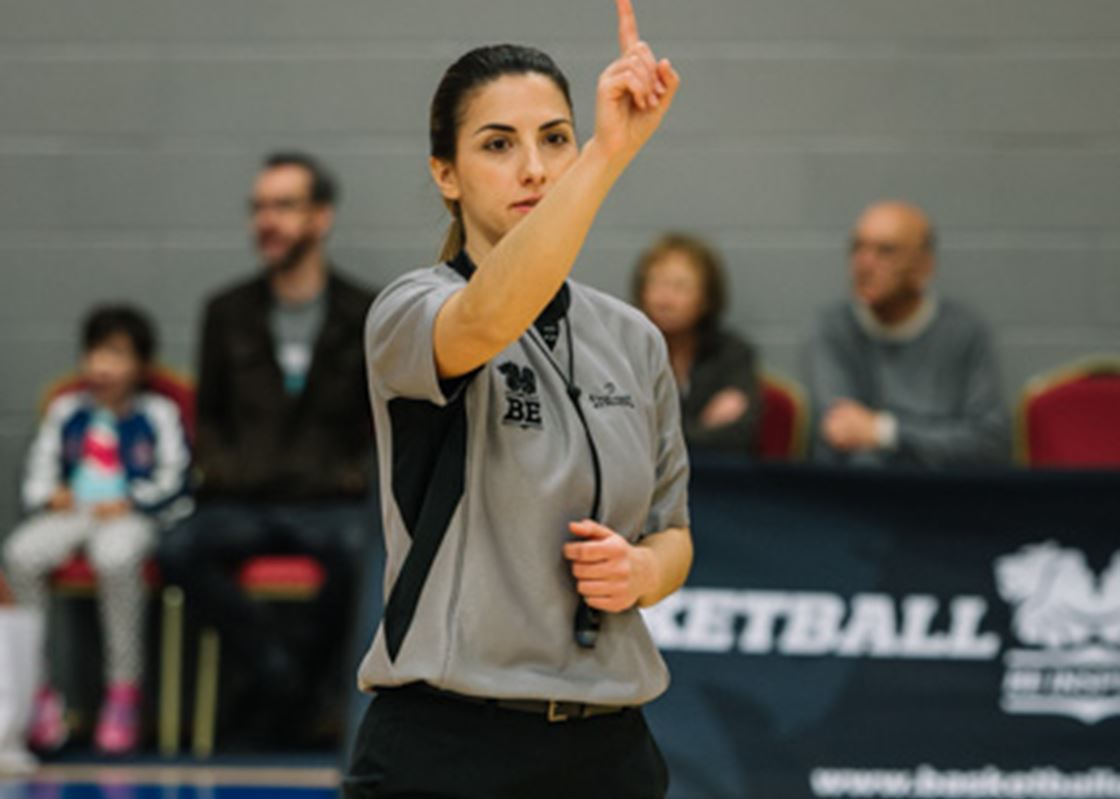 Officiate | Basketball England
